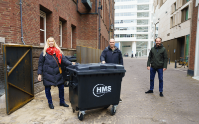Ondernemers en gemeente starten afvalpilot in centrum
